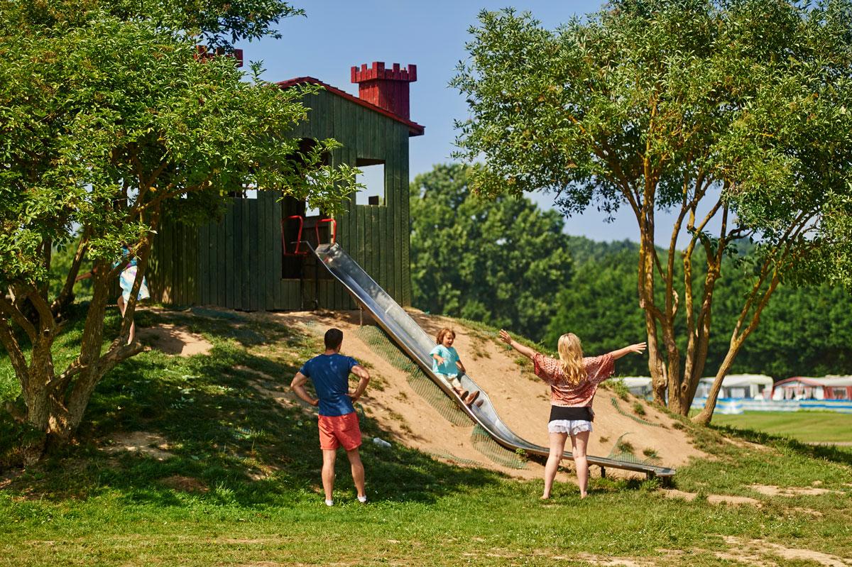 Camping, Playground, Fun