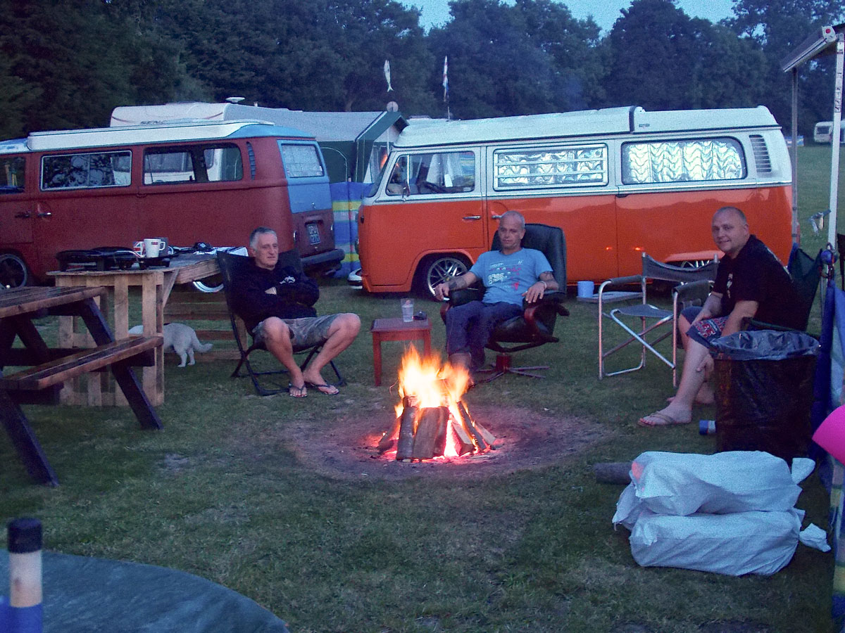 Camping, Groups, Open Fires