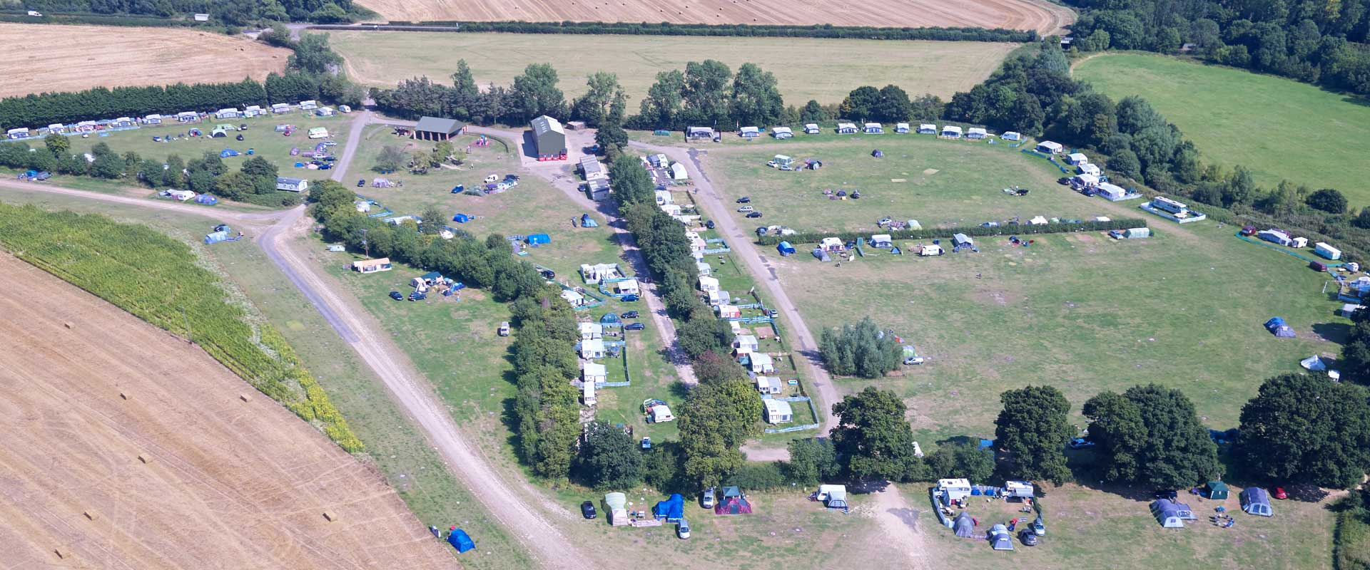 Park Farm Campsite Bodiam East Sussex Caravan And